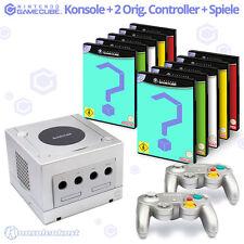 GameCube Konsole + Controller + Spiele / Großes Nintendo GC Set