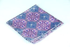 Lord R Colton Masterworks Pocket Square - Tangier Stone Woven Silk - $75 New
