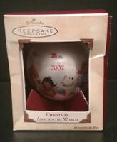 Hallmark Keepsake Ornament 2002 Christmas Around The World Bulb Collectible T14