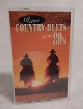Biggest Country Duets of the 80's by Various Artists - Cassette