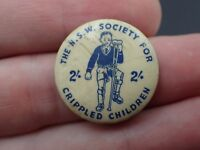 The New South Wales Society for crippled children badge pin Bag 3)