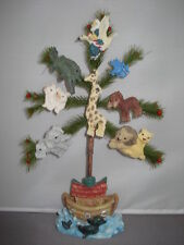 Nativity Noahs Ark Tree resin bristle 51908 46
