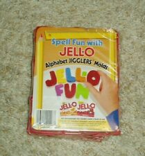 JELLO ALPHABET JIGGLERS MOLDS - NEW IN PACKAGE
