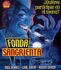 FONDA SANGRIENTA (BLU-RAY DISC BD PRECINTADO) TERROR DE CULTO
