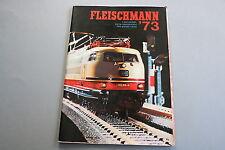 X051 FLEISCHMANN Train catalogue Ho N 1973 80 pages 29,3*20,7 cm PRIX 1973 F