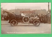 More details for visit h m king george v to weymouth 1912 motor car rp pc used seward ab678