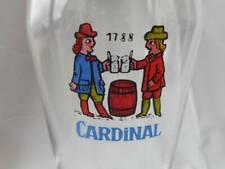Vintage Cardinal Pilsner Glass 1788
