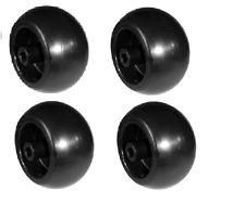 (4) John Deere Mower Deck Wheels - Z810, Z820, Z830, Z850, Z910, Z920, Z930 Z950