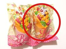 iBloom Quality Fruit Sundae Cup (Orange) Rare Licensed Collectible Super Squishy