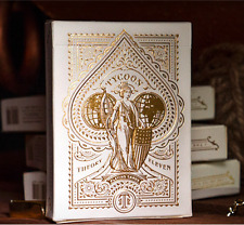 Tycoon Playing Cards Deck (Ivory) by Theory 11
