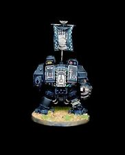 Warhammer 40K Space Marines Iron Hands Dreadnought 1 PRO PAINTED miniature