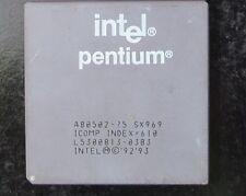 INTEL PENTIUM A80502-75 CPU/PROCESSOR (GOLD RECOVERY?)