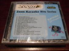 ZOOM KARAOKE HITS SERIES CDZM0001 HARD TO FIND SEVENTIES POP VOL 1 CD+G