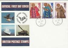 1972 Chrismas Full Set  Official FDC British Forces Post Service