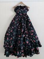 LAURA ASHLEY VINTAGE ROSE DETAIL SPECIAL OCCASION DRESS size vintage 10 (6/8)