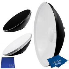"Phot-R 16"" Bowens Beauty Dish Diffuser Honeycomb Grid Microfibre Chamois Cloth"
