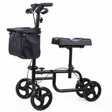 Knee Scooter Walker Steerable Scooter Crutches Alternative for Injured Knee/Foot