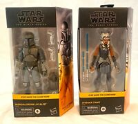 Star Wars Clone Wars Black Series Ashoka Tano & Mandalorian Loyalist NEW