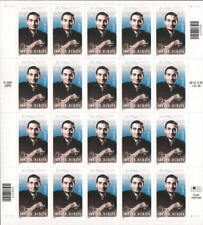 2002 37c Irving Berlin Songwriter, God Bless America Scott 3669 Mint Sheet of 20