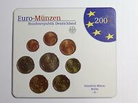 coffret euro monnaies 2004, serie du 1ct à 2euro,  Allemagne