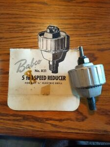 Babco 5 To 1 Speed Reducer #821