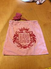 Juicy Couture Drawstring Pouch/ Bag Cover MLD