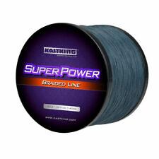 KastKing Superpower Braid Fishing Line Low Vis Gray 30lb 0.25mm 1000m 1094 Yds