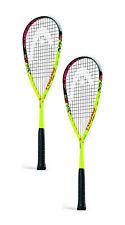 Head Graphene Xt Cyano 120 squash racquet racket - 2 pack bundle - Warranty