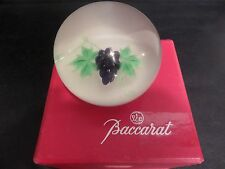 LARGE Gorgeous LIMITED Edition BACCARAT Grape Cluster ART GLASS  Paperweight