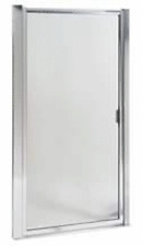 "MAAX® Pivot Shower Door Hammered Glass Pattern 64-1/2H x 28 To 32-1/2""W"