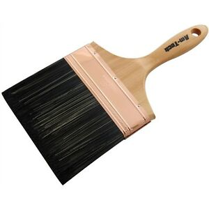 """6"""" 150mm  Professional Wall Paint Paper Pasting Brush Wooden Varnish Fence Paste"""