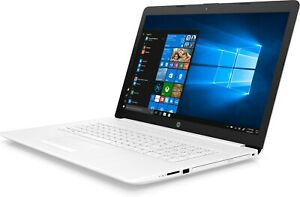 """HP 17.3"""" Touch Laptop/Notebook i7-1065G7 16GB 1TB HDD+128GB SSD DVDRW White"""