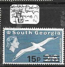 SOUTH GEORGIA  FALKLAND ISLANDS (PP1905B) 15P/2/6  MNH