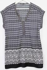 Jacqui E Short Sleeve Casual Regular Size Tops for Women