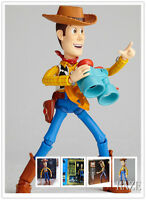 New Kaiyodo SCI-FI REVOLTECH TOY STORY WOODY Action Figure Toy
