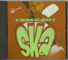 KNOCK OUT SKA - DON DRUMOND-THE MELODIES-STRANGER COLE - MINT CD - 20 SKA SONGS