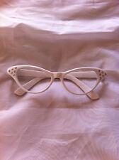 1950 Gafas Rosa Mujer , mujer EDNA espf. Accesorio de disfraz