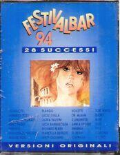 "COMPILATION "" FESTIVALBAR '94 "" 2 MUSICASSETTE SIGILLATE EMI   (MC K7)"