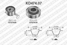 Kit distribution SNR  HONDA SHUTTLE (RA) 2.2 16V 150 CH