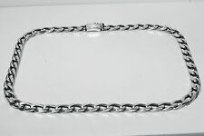 Gents Chain Metric Figaro 1x1 150gr Sterling Solid 925 Silver  Man Men