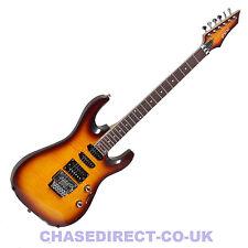 Shine SIL-50 VS Electric Guitar Superstrat Vintage Sunburst Floyd Rose Tremolo
