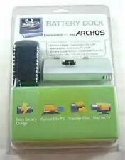 New ARCHOS BATTERY DOCK 500977 for 405 & 605 WiFi Players + TV USB Connections