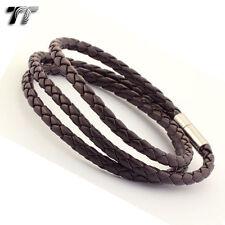 Brown Leather Fashion Bracelets