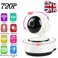 720P HD Pan Tilt Wireless Wifi Security Network CCTV IP Camera Night Vision IR