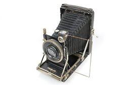 KW Kamera-Werkstätten Patent Etui II 6,5 x 9 + Tessar 4,5/12cm !!!