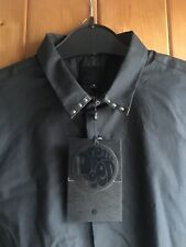 Pretty Green Liam Gallagher Limited Edition Black Shirt Brand New RRP £115