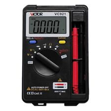 VICTOR VC921 Multimeter AC/DC Resistance Capacitance Frequency Tester Meter New