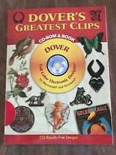 Dover's Greatest Clips CD-ROM and Book~By Dover