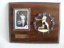 Nolan Ryan Texas Rangers Clock Limited Edition Vintage Sport Plaque MLB Baseball
