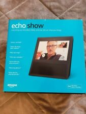 Amazon Echo Show 1st Generation Smart Assistant with Alexa - Black (NEW) Sealed!